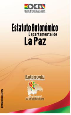 Estatuto Autonómico de La Paz