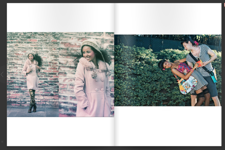 Nadia Peralta's Modeling / Foto: Paola Lambertin