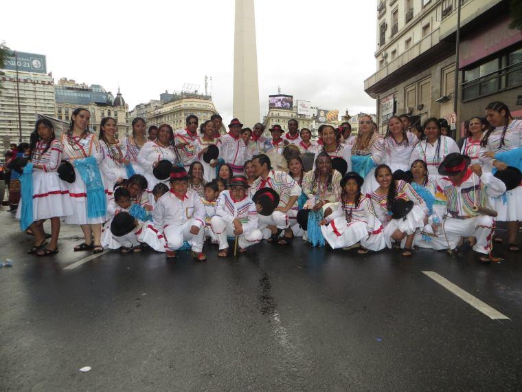 Saya Afroboliviana. Foto: Movimiento Afroboliviano Mururata en Argentina