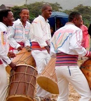 Afrobolivianos celebran su día