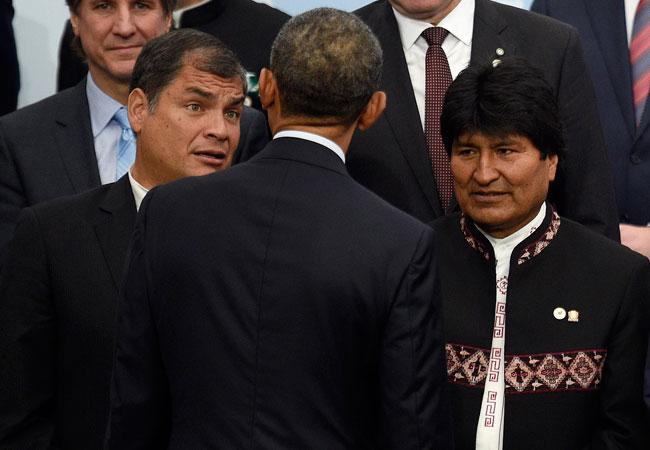 Evo and Obama