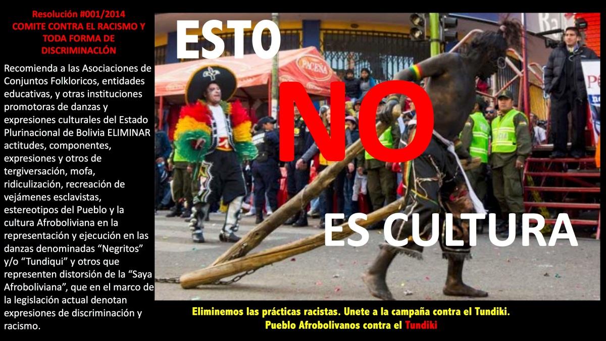 Afrobolivianos Unidos Contra el #Tundiki