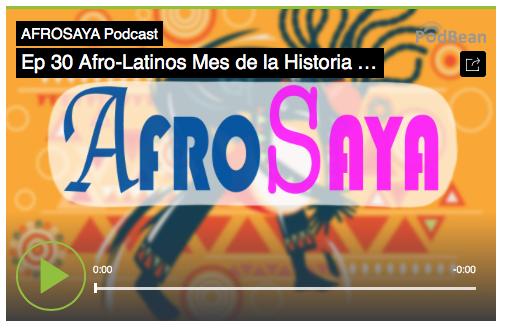 Ep 30 Afrolatinos Podcast, Afro, USA, Historia