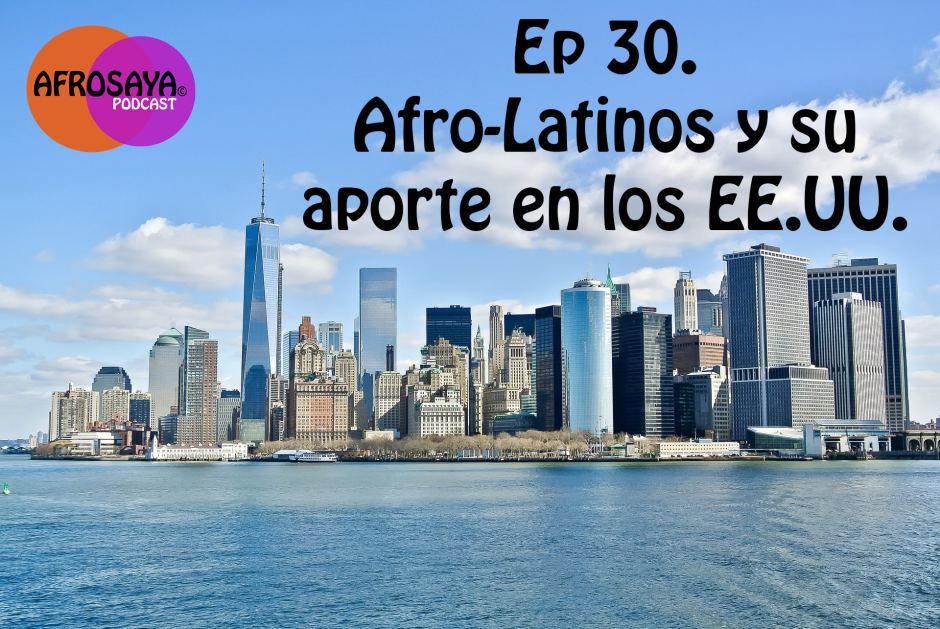 Afrolatinos Aporte a la historia Afro Americana